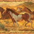 A Cloud of Dust - Horses - 550 piece SunsOut puzzle - for Ages 12+