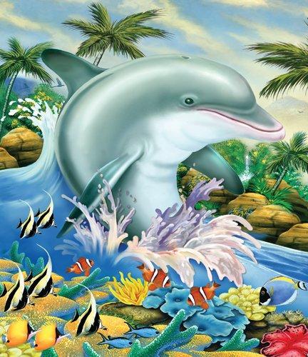 Dolphin Splash - 200 piece SunsOut puzzle - for Ages 7+