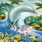 Dolphin Splash - 200 piece SunsOut puzzle - for Ages 7+
