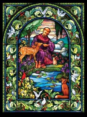 St. Francis - 1,000 piece SunsOut puzzle - for Ages 12+