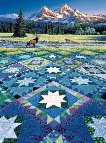Mountain Vigil - 100 piece SunsOut Mini puzzle