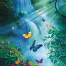 Butterflies in the Mist - 100 piece SunsOut Mini puzzle