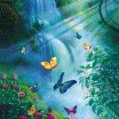 Butterflies in the Mist - 100 piece SunsOut Mini puzzle