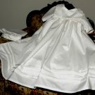 Colonial Heirloom Handmade Cotton Christening Baptism Gown Preemie Under 7lbs