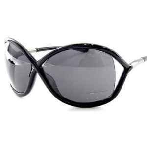 TOM FORD Whitney Sunglasses TF 9 Black 199