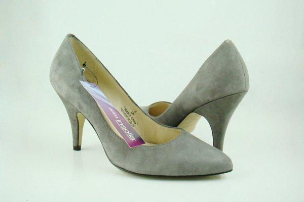 Ladies Dress Shoes High-Heeled Shoes Grey UK Size:4- 8