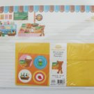Cute Grocery Teddy Bear Letter Set