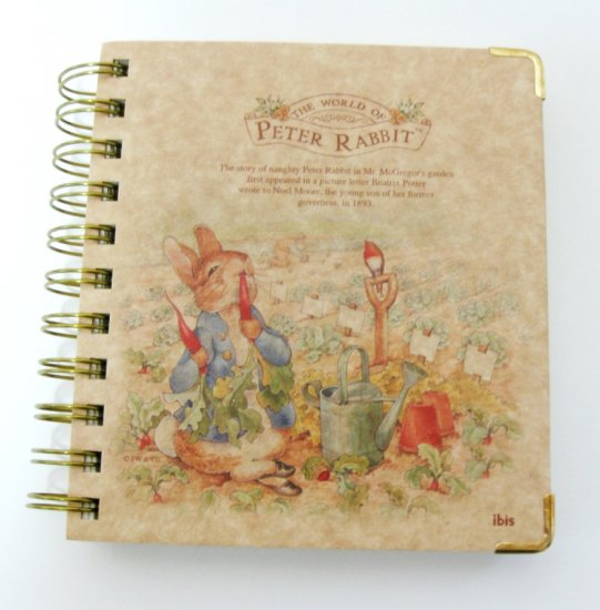 Beatrix Potter Spiral Note Book