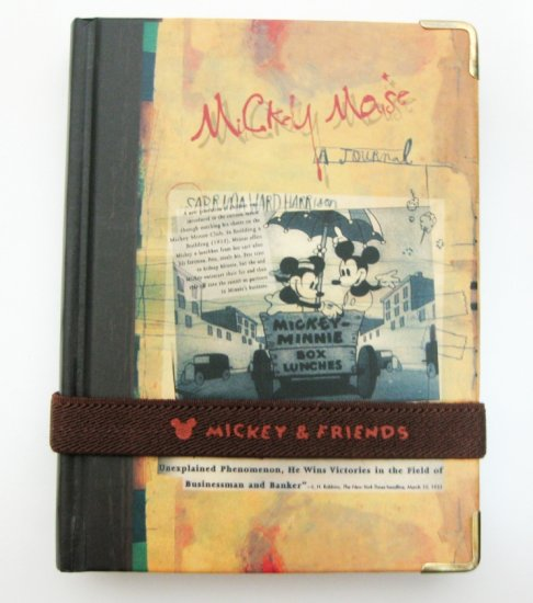 Classic Mickey Mouse Journal
