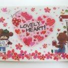Cute Bear Love Heart Card Holder