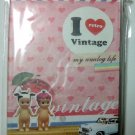 I Love Vintage Journal Diary Planner