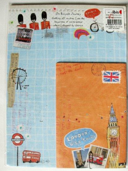 Cute London City Tour Letter Set