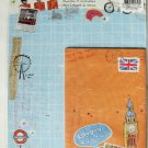 Cute London City Tour Letter Set