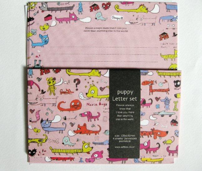 Fun Artbox Colorful Puppy Letter Set