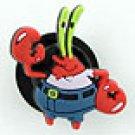 Mr. Krabs from Spongebob Shoe Charm Croc Decoration