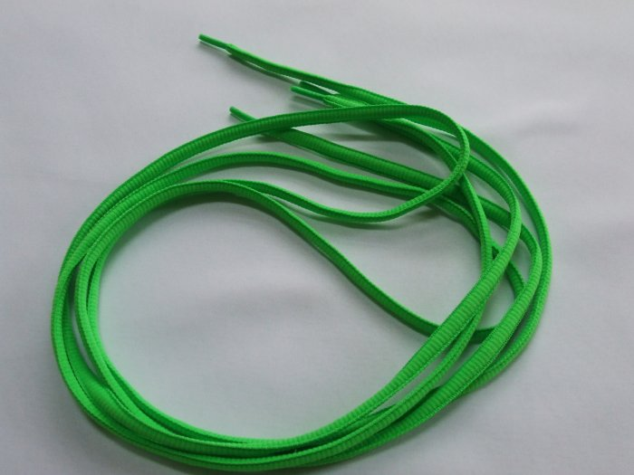 """Neon Green Shoelaces 45"""" Bright Florescent  Green 114 cm (45 inch)"""
