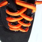 "Neon Orange Shoelaces 45"" 114 cm (45 inch) Bright Orange Shoelaces"