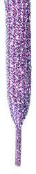 """Lavender Purple and Green Glitter Shoelaces,Lavender Glitter Shoelaces 47"""", 47 inches"""