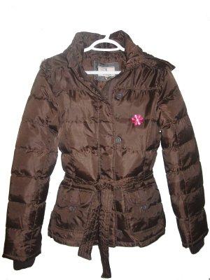 Girl's Brown Winter Jacket