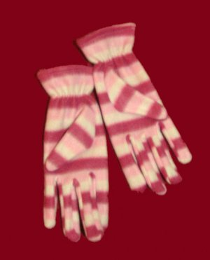 Girl's Winter Gloves - Pink or Blue