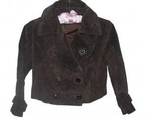 Teen Brown Suede leather Jacket