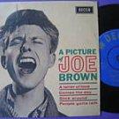Joe Brown 7in EP india Dum Dum India