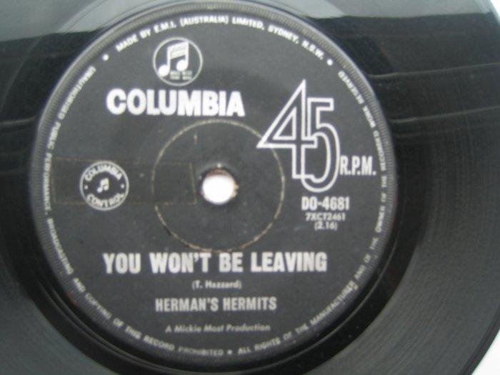 Herman Hermits 7in Single Columbia Australia