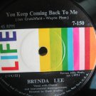 Brenda Lee 7in Single Life