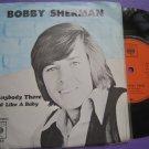 Bobby Sherman 7in single CBS Spore