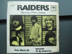 The Raiders 7in Single CBS