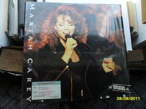 Mariah Carey Unplugged laser disc Sony