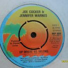 Joe Cocker and Jennifer Warnes 7in Single