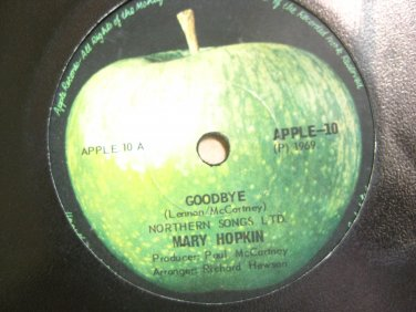 Mary  Hopkin 7in Single Apple-10