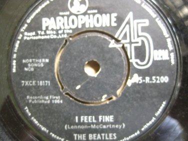 The Beatles 7in Single Parlophone UK