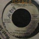 Yoko Ono Plastic Ono Band 7in Single Apple