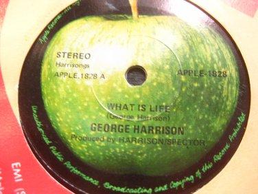 George Harrison 7in Single Apple