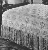 Dahlia Bedspread Pattern