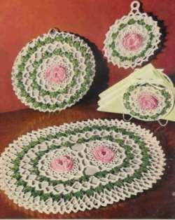 Rose Pad Set Patterns