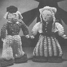 Dutch Boy and Girl Doll Patterns