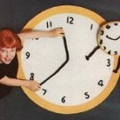 Clock Pillow and Clock Rug Patterns