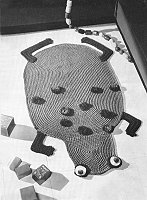 Frog Rug Pattern