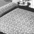 Pinecone Bedspread Pattern