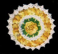Rose Napkin Holder Pattern