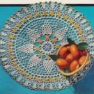 Orange Blossom Doily Pattern