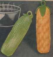 Cucumber and Corn Panhandlers Pattern