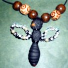 Handcrafted Original Art Jewelry Dragonfly Necklaces PR06798