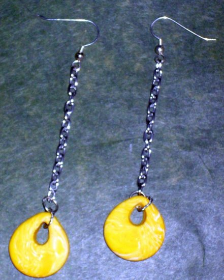 Handcrafted Original Art Earrings CR00831