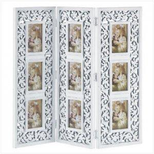Ornate Multi-Frame Photo Screen
