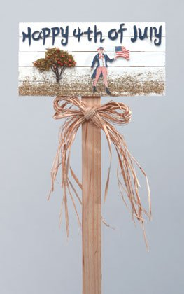 Changeable Holiday Garden Sign