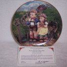 "Hummel Little Companions Plate-""Country Crossroads"" w/certificate"
